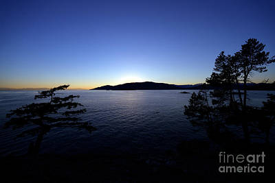 Photograph - Juniper Point Sunset by Terry Elniski