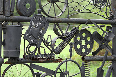 Photograph - Junk Art by Marilyn West