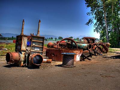 Photograph - Junk by Lawrence Christopher