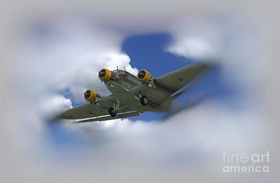 Junker Ju 52/3 Tri-motor Art Print by JRP Photography