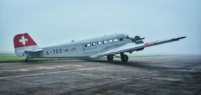 Photograph - Junkers Ju-52 by Jiri Vatka