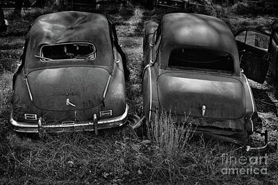 Photograph - Junkyard Cars 1 by Patrick M Lynch