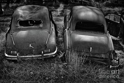 Photograph - Junkyard Cars 1 by Patrick M Lynch