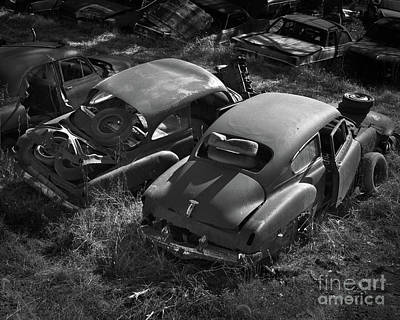 Photograph - Junkyard Cars 2 by Patrick M Lynch