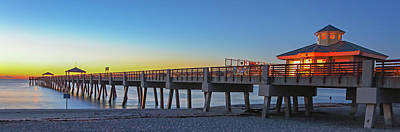 Photograph - Juno Beach Fishing Pier by Juergen Roth