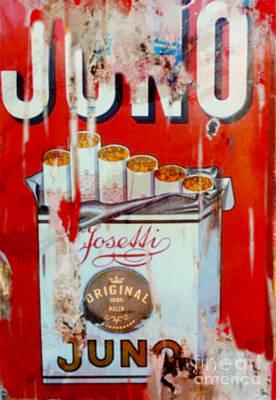 Dadaismus Painting - Juno Josetti Vintage Pop Art Pur by Felix Von Altersheim