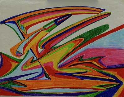 Painting - Jupiter Bio-weapon by Robert SORENSEN