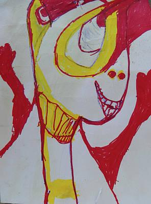 Drawing - Jupiter Dan by Judith Redman