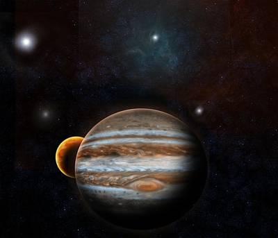Digital Art - Jupiter by Emiliano Giardini