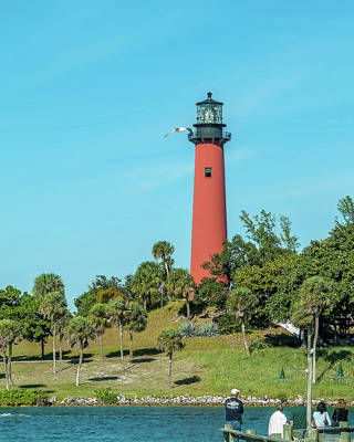 Photograph - Jupiter, Florida  Light by Gordon Engebretson