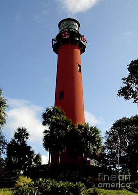 Photograph - Jupiter Inlet Lighthouse by D Hackett