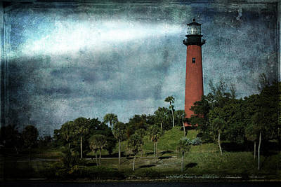 Photograph - Jupiter Lighthouse-2a by Rudy Umans