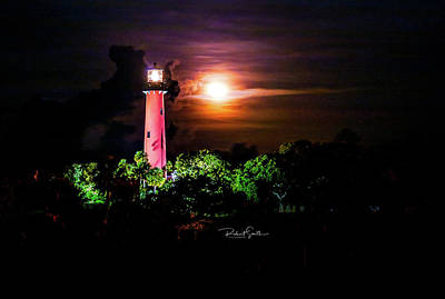 Photograph - Jupiter Lighthouse by Robert Smith