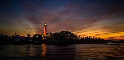 Photograph - Jupiter Lighthouse Sunrise by Christopher Perez