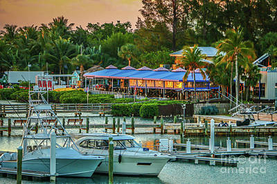 Photograph - Jupiter Waterfront Dining by Tom Claud