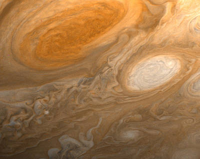 Photograph - Jupiter's Great Red Spot by Artistic Panda