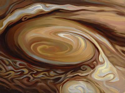 Jupiter's Great Red Spot Art Print