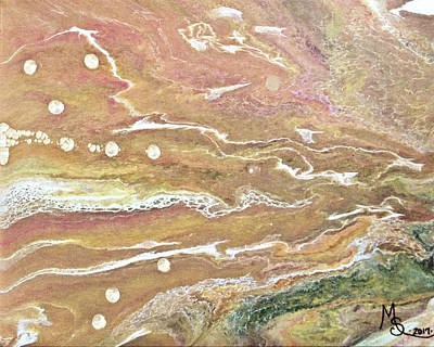 Painting - Jupiter's Moons by Absinthe Art By Michelle LeAnn Scott
