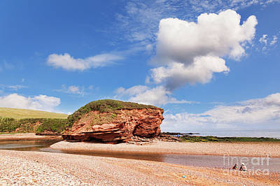Photograph - Jurassic Coast by Colin and Linda McKie