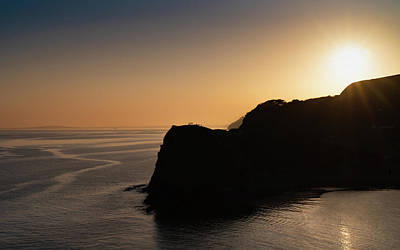 Photograph - Jurassic Coast Sunset by Framing Places