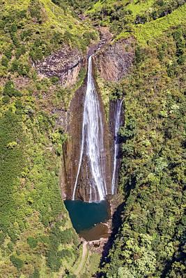Photograph - Jurassic Falls Kauai by Pierre Leclerc Photography