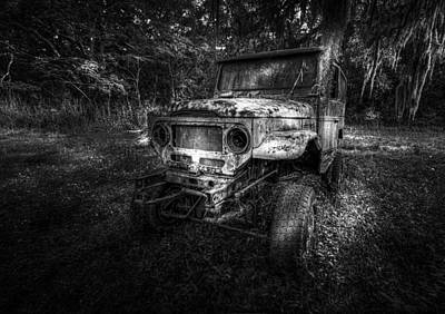 Wheeler Photograph - Jurassic Four Wheeler by Marvin Spates