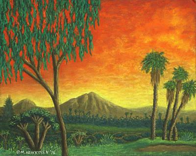 Pastel - Jurassic Park Blvd 01 by Michael Heikkinen