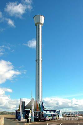 Photograph - Jurassic Skyline Eye Tower by Baggieoldboy