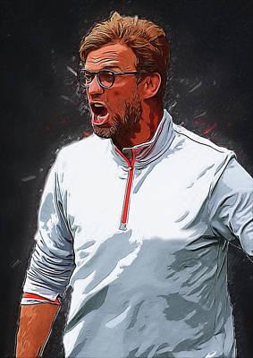 Cristiano Ronaldo Digital Art - Jurgen Kloop by Semih Yurdabak