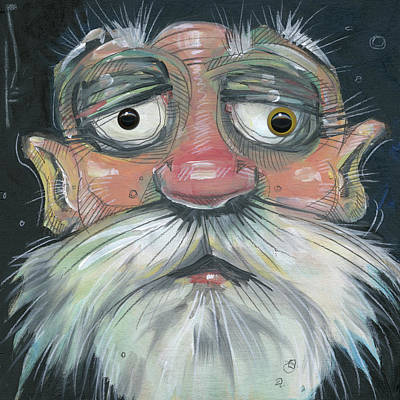 Painting - Juror Number Seven With Eyes by Tim Nyberg
