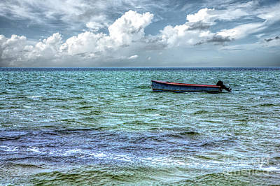 Photograph - Just A Boat On The Outer Banks by Dan Carmichael