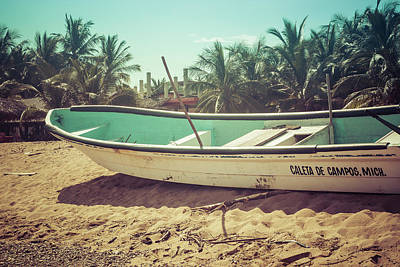 Photograph - Just A Boat by Tina Ernspiker