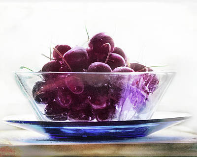 Photograph - Just A Bowl Of Cherries by Susan Capuano