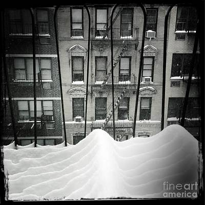 Photograph - Just A Dusting Really - Winter In New York by Miriam Danar