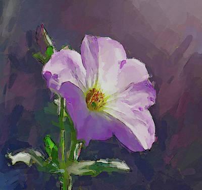 Digital Art - Just A Flower by Yury Malkov