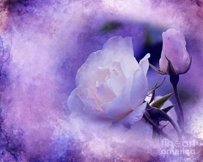 Digital Art - Just A Lilac Dream -4- by Issabild -