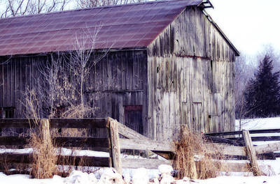 Photograph - Just A Little Tlc Barn by Cathy  Beharriell