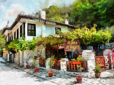 Digital Art - Just A Lovely Place by Eva Lechner