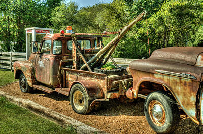Photograph - Just A Minor Delay In The Road Trip by Douglas Barnett