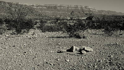 Photograph - Just A Pile Of Rocks - Question by Karen Musick