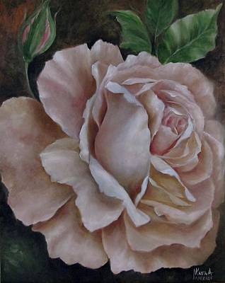Painting - Just A Rose by Katia Aho