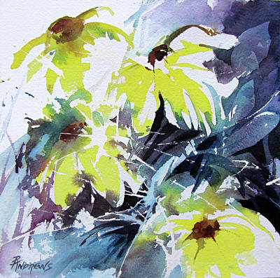 Painting - Just A Splash Of Yellow by Rae Andrews