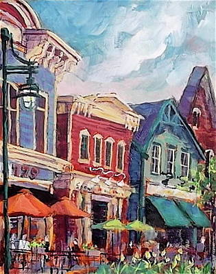 Painting - Just A Taste Of by Les Leffingwell