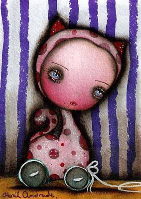 Just A Toy Art Print by  Abril Andrade Griffith