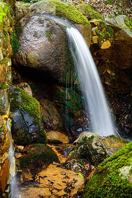 Photograph - Just A Very Small Waterfall II by Marco Oliveira