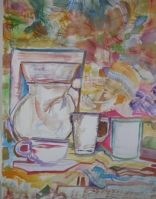 Just Add Coffee Art Print by James Christiansen