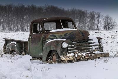 Photograph - Just An Old Pickup Truck by Melinda Martin