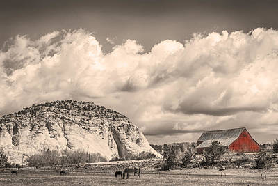 Photograph - Just An Old Western Landscape by James BO Insogna