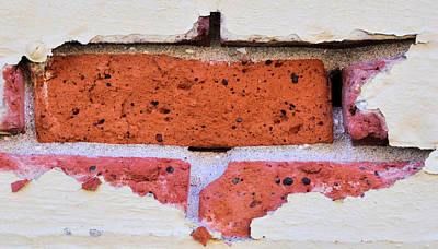 Just Another Brick In The Wall Art Print by Josephine Buschman