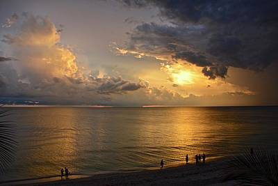 Photograph - Just Another Spectacular Florida Summer Sunset by Carol Bradley